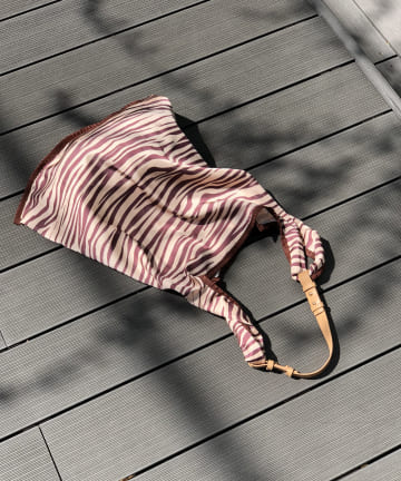 un dix cors(アンディコール) 【毎日持ちたくなる優秀バッグ】マルシェエコバッグ