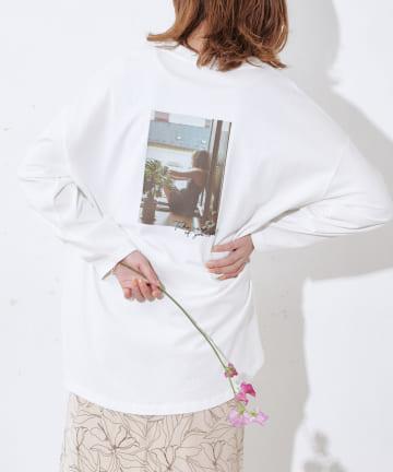 Discoat(ディスコート) オソロバックVTGフォトロングTシャツ