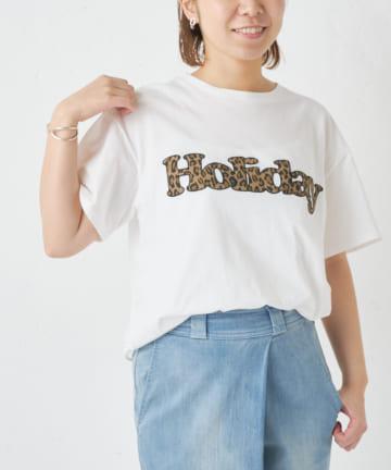 BONbazaar(ボンバザール) 【MASTER&Co.】ホリデー ロゴTシャツ