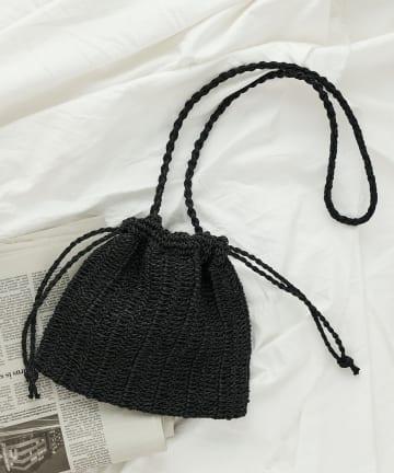 COLONY 2139(コロニー トゥーワンスリーナイン) ペーパーミニ巾着バッグ/ショルダーバッグ