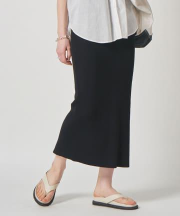 GALLARDAGALANTE(ガリャルダガランテ) リブニットタイトスカート【オンラインストア限定商品】