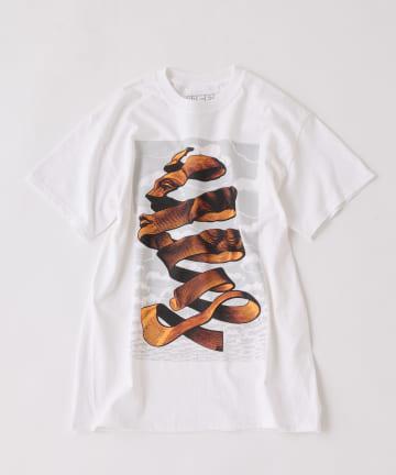 BONbazaar(ボンバザール) 大人気追加販売!【ESCHER】プリントTシャツ