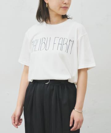 BONbazaar(ボンバザール) 《ユニセックス》【MALIBU FARM】MALIBUプリントTシャツ