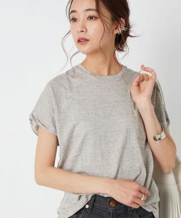 La boutique BonBon(ラブティックボンボン) 【marmors (マルモア)】ロールアップTシャツ