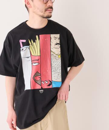 BONbazaar(ボンバザール) 《ユニセックス》アメコミキャラクタープリントTシャツ