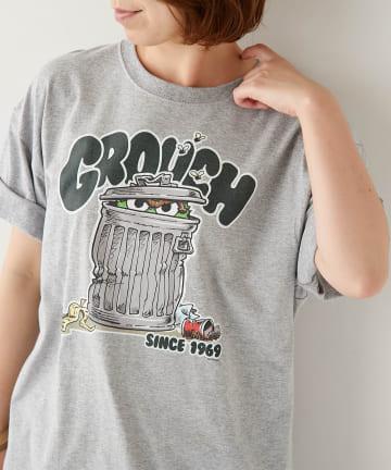 BONbazaar(ボンバザール) 《ユニセックス》セサミストリートプリントTシャツ