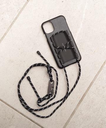 COLLAGE GALLARDAGALANTE(コラージュ ガリャルダガランテ) 【SHAKECASE/シェイクケース】iPhone11 ロープ