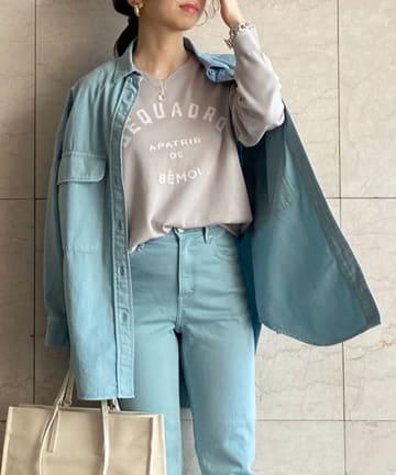 Loungedress(ラウンジドレス) 【YANUK/ヤヌーク】CPOシャツ