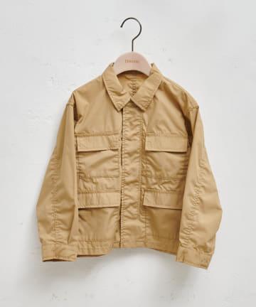 Discoat(ディスコート) 【キッズ】オソロミリタリーシャツジャケット