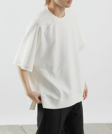 COLONY 2139(コロニー トゥーワンスリーナイン) エアリーダンボールクルーネック半袖Tシャツ