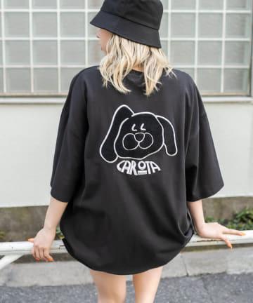 RASVOA(ラスボア) ウサギ?Tシャツ
