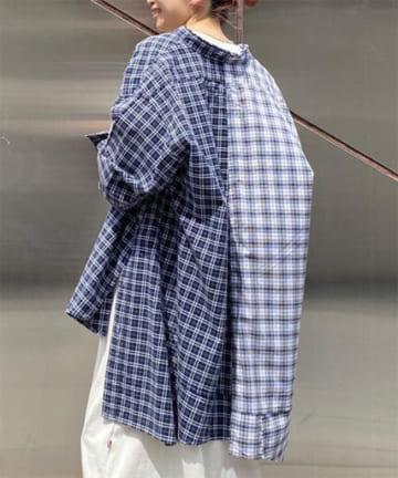 CIAOPANIC TYPY(チャオパニックティピー) 【etsinta/エシンタ】リメイクオーバーシャツ