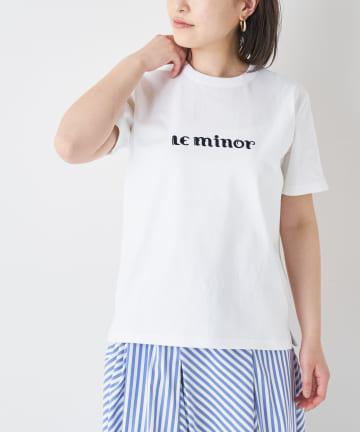BONbazaar(ボンバザール) 【Le Minor】ロゴTシャツ