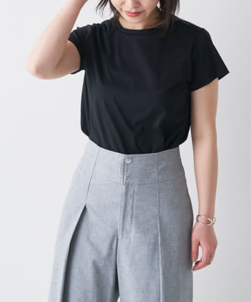 BONbazaar(ボンバザール) 【Dessin de mode】コットンスムーステーラーTシャツ