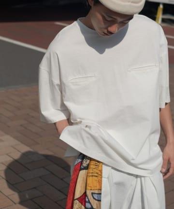 Kastane(カスタネ) 【WHIMSIC】PIPING WESTERN T-SHIRTS