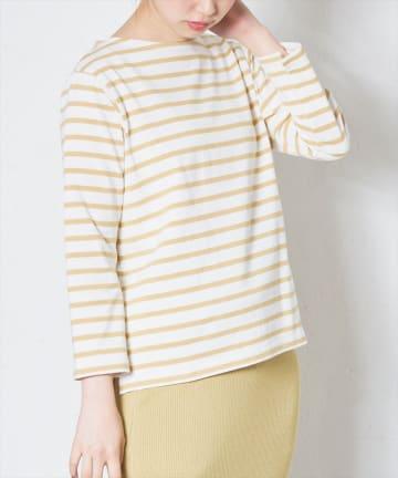 natural couture(ナチュラルクチュール) 便利なベーシックボーダーT