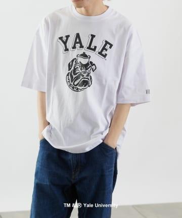 COLONY 2139(コロニー トゥーワンスリーナイン) カレッジUSAコットン天竺半袖Tシャツ(ユニセックス可)