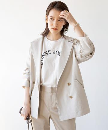 Loungedress(ラウンジドレス) 【+81BRANCA/ハチイチブランカ】BONNIE JORNEE Tシャツ