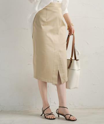 Loungedress(ラウンジドレス) チノクロスタイトスカート