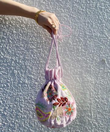 SHENERY(シーナリー) 【WEB限定】(ne Quittez pas)ペイズリーショルダーバッグ
