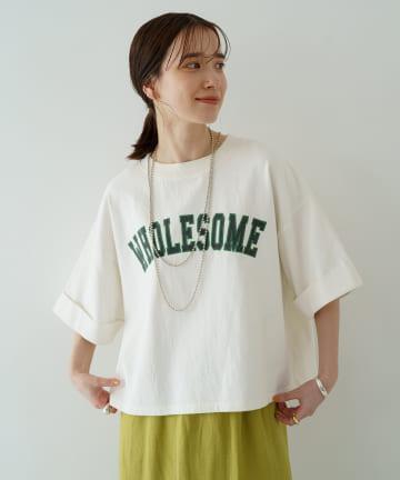Loungedress(ラウンジドレス) 【WEB限定】ショートプリントT