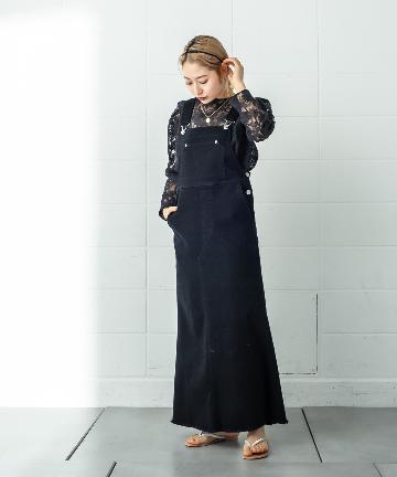 mystic(ミスティック) ツイルジャンパースカート