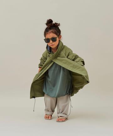 BONbazaar(ボンバザール) 《キッズ》【MOUN TEN】60/40 grosgrain coat