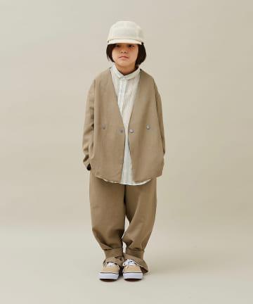 BONbazaar(ボンバザール) 《キッズ》【MOUN TEN】polyester canapa hem