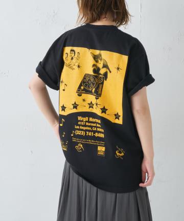 BONbazaar(ボンバザール) 《ユニセックス》【VIRGIL NORMAL】プリントTシャツ