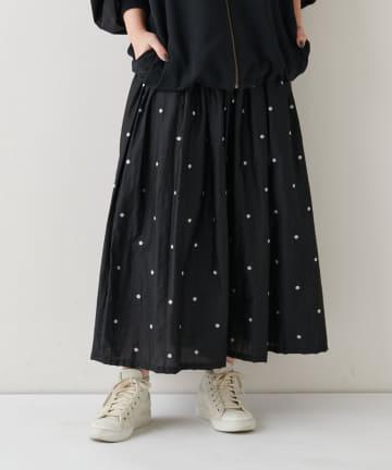 BEARDSLEY(ビアズリー) ドットジャガードスカート