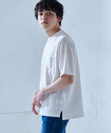 Discoat(ディスコート) カラーネップTシャツ