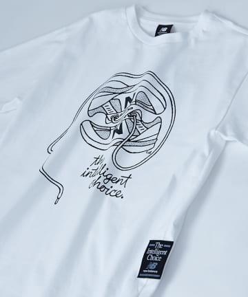 Discoat(ディスコート) 【New Balance】 ATHLETICS DELORENZO Tシャツ
