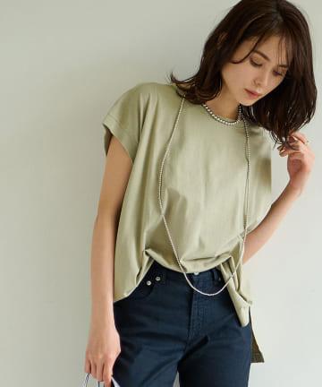 La boutique BonBon(ラブティックボンボン) USコットンタンクTシャツ