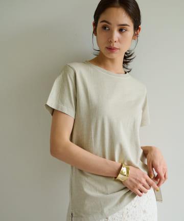 La boutique BonBon(ラブティックボンボン) 【手洗い可】USコットンショートスリーブTシャツ