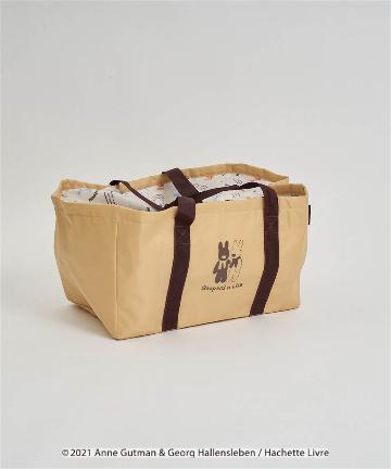 salut!(サリュ) 【リサとガスパール】買い物バッグ(ベージュ)