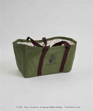 salut!(サリュ) 【リサとガスパール】買い物バッグ(グリーン)