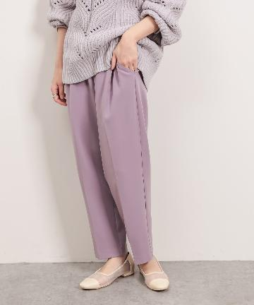 natural couture(ナチュラルクチュール) ウォッシャブル美シルエットパンツ Mサイズ