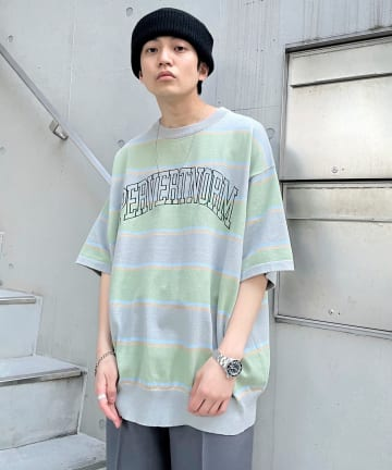 WHO'S WHO gallery(フーズフーギャラリー) 【KOOKY'N/クーキー】ボーダーニットTEE
