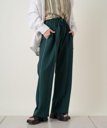 Kastane(カスタネ) 【WHIMSIC】PIPING TRACK PANTS