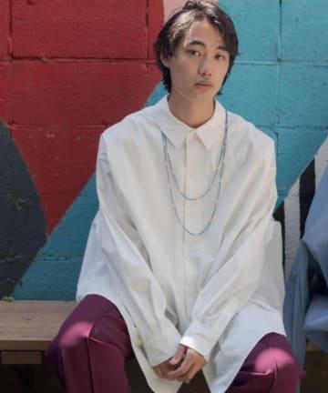 Kastane(カスタネ) 【WHIMSIC】BEADS NECKLACE SET BIG SHIRT