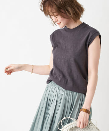 RIVE DROITE(リヴドロワ) 【girl Dangerous/ガールデンジャラス】ノースリーブTシャツ