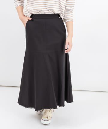 BONbazaar(ボンバザール) 《セットアップ推奨》裾フリンジスカート