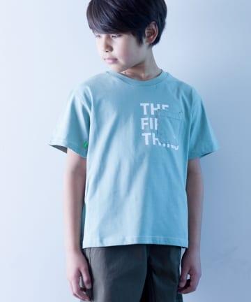 CIAOPANIC TYPY(チャオパニックティピー) 【KIDS】【瞬足】シルケット天竺ポケットTee