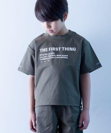 CIAOPANIC TYPY(チャオパニックティピー) 【KIDS】【瞬足】サイドジップ ロゴT