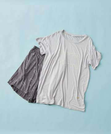 TERRITOIRE(テリトワール) 【ひんやり涼しい】冷感シロクマTシャツセット