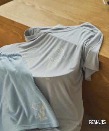 TERRITOIRE(テリトワール) 【PEANUTS】接触冷感アイスクリームTシャツ パイルセット