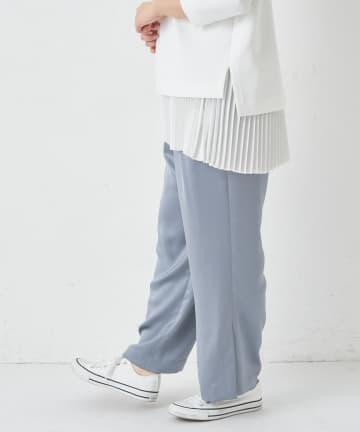 BONbazaar(ボンバザール) 【2BUY10%OFF対象】ヴィンテージサテンイージーパンツ