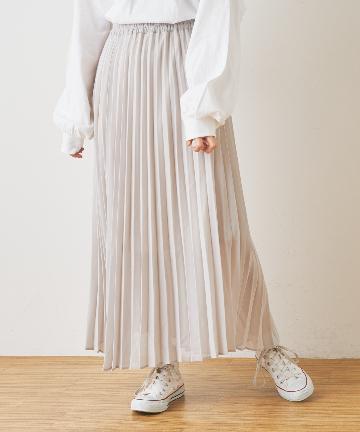 NICE CLAUP OUTLET(ナイスクラップ アウトレット) プリーツスカート