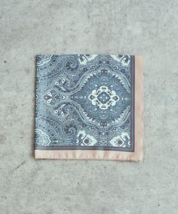 Lui's(ルイス) イタリアメイド装飾柄スカーフ