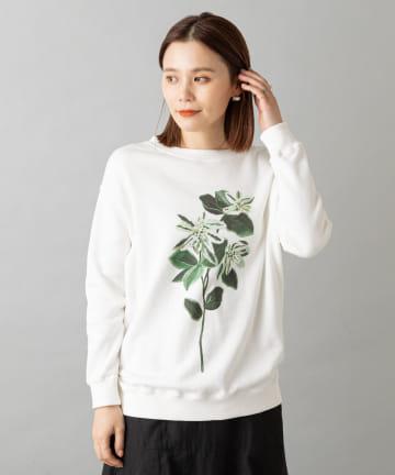 Omekashi(オメカシ) TOLIGHT blooming print pullover